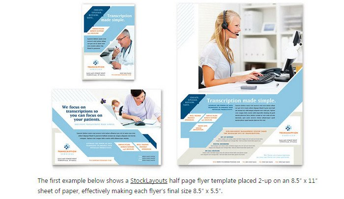Half Page Advertisement Template 6 Half Page Flyer Template