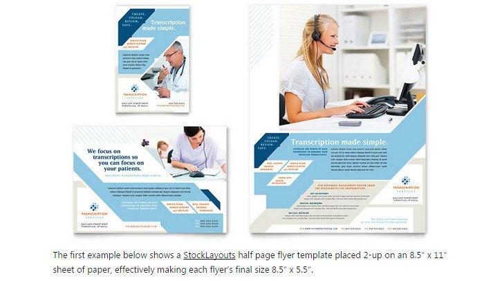 Half Page Flyer Template 6 Half Page Flyer Template
