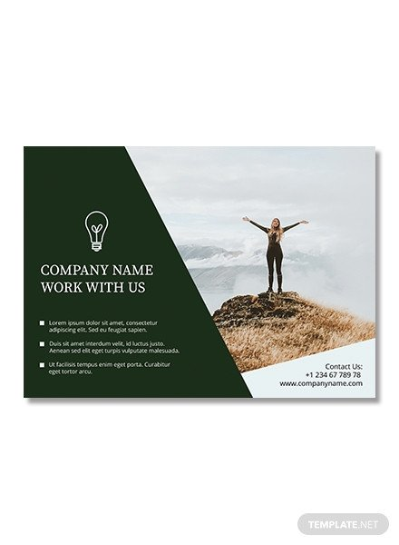 Half Page Flyer Template Free Half Page Flyer Template In Adobe Shop
