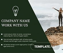 Half Page Flyer Templates Free Half Page Flyer Template In Adobe Shop