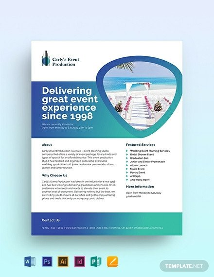 Half Sheet Flyer Template Free Half Page Flyer Template Download 1423 Flyers In