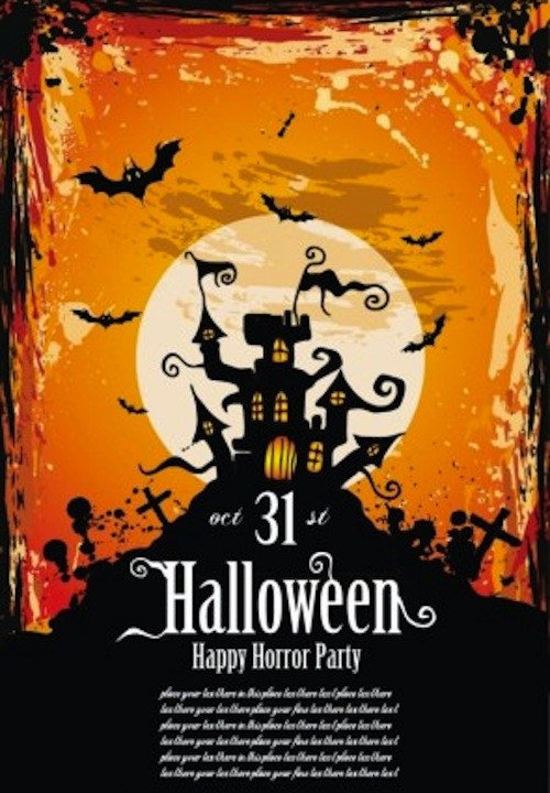 Halloween Flyer Template Free 12 Best Free Halloween Flyer Templates thedesignblitz