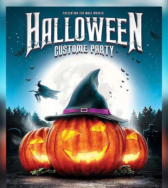 Halloween Flyer Template Free 45 Best Halloween Psd Party Flyer Templates 2016