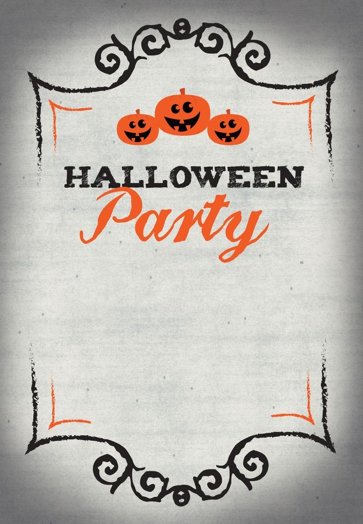 Halloween Party Invitation Template Best 25 Halloween Party Invitations Ideas On Pinterest