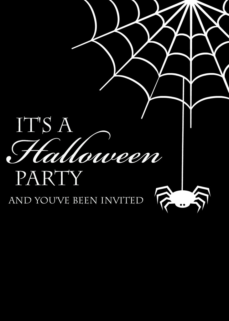 Halloween Party Invitation Template Free Printable Halloween Invitations Crazy Little Projects