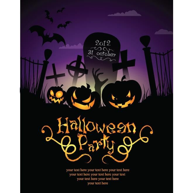 Halloween Party Invitation Template Halloween Invitations Templates Free