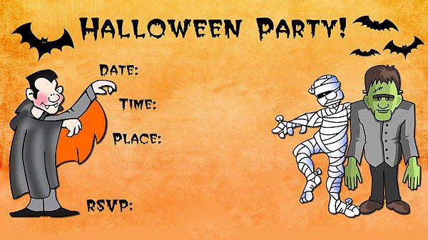 Halloween Party Invitation Templates 16 Awesome Printable Halloween Party Invitations