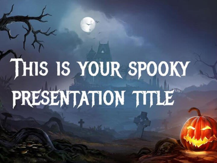 Halloween Power Point Templates Free Google Slides or Powerpoint Template for Halloween
