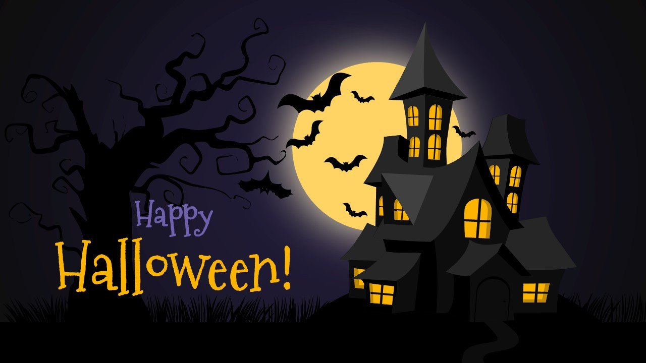 Halloween Power Point Templates Free Halloween Powerpoint Background Slidemodel