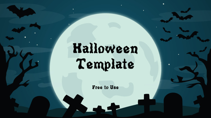 Halloween Power Point Templates Free Halloween Powerpoint Template
