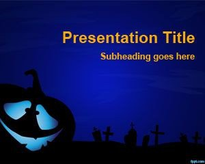Halloween Power Point Templates Free Halloween Powerpoint Template Ppt theme