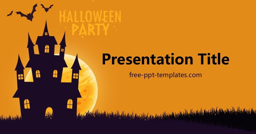 Halloween Power Point Templates Free Powerpoint Templates