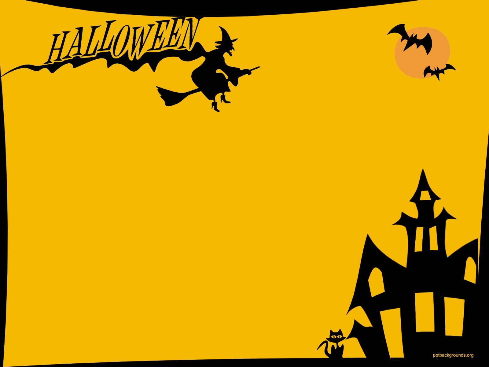 Halloween Power Point Templates Halloween Backgrounds for Powerpoint – Festival Collections
