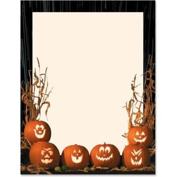Halloween Templates for Word 17 Images About Recipe Paper On Pinterest