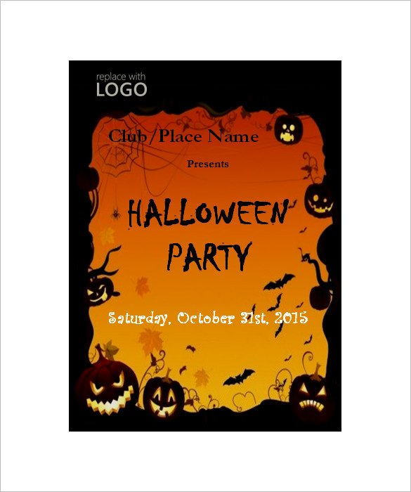 Halloween Templates for Word 50 Microsoft Invitation Templates Free Samples