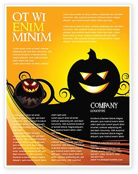 Halloween Templates for Word Halloween is Near Flyer Template Background In Microsoft