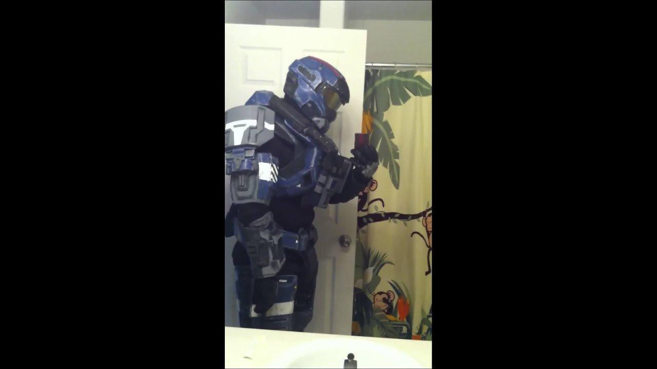 Halo Odst Foam Armor Templates Carter Halo Reach Foam Armor
