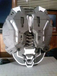 Halo Odst Foam Armor Templates Eva Foam Helmet