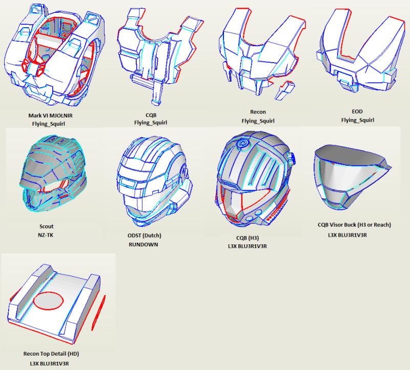 Halo Odst Foam Armor Templates Halo Armor Files Armor Tutorials Pinterest