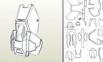 Halo Odst Foam Armor Templates Halo Odst Armor Arms Part 3 Of 5 Of Odst Armor Build