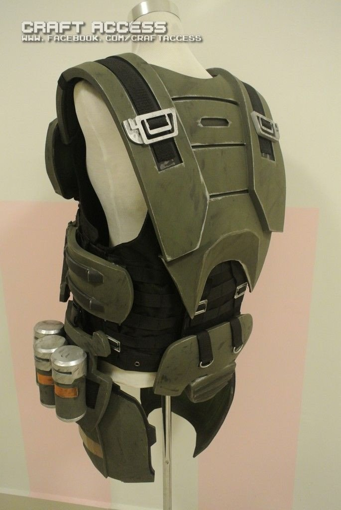 Halo Odst Foam Armor Templates Halo Odst Armor by Craftaccess On Deviantart