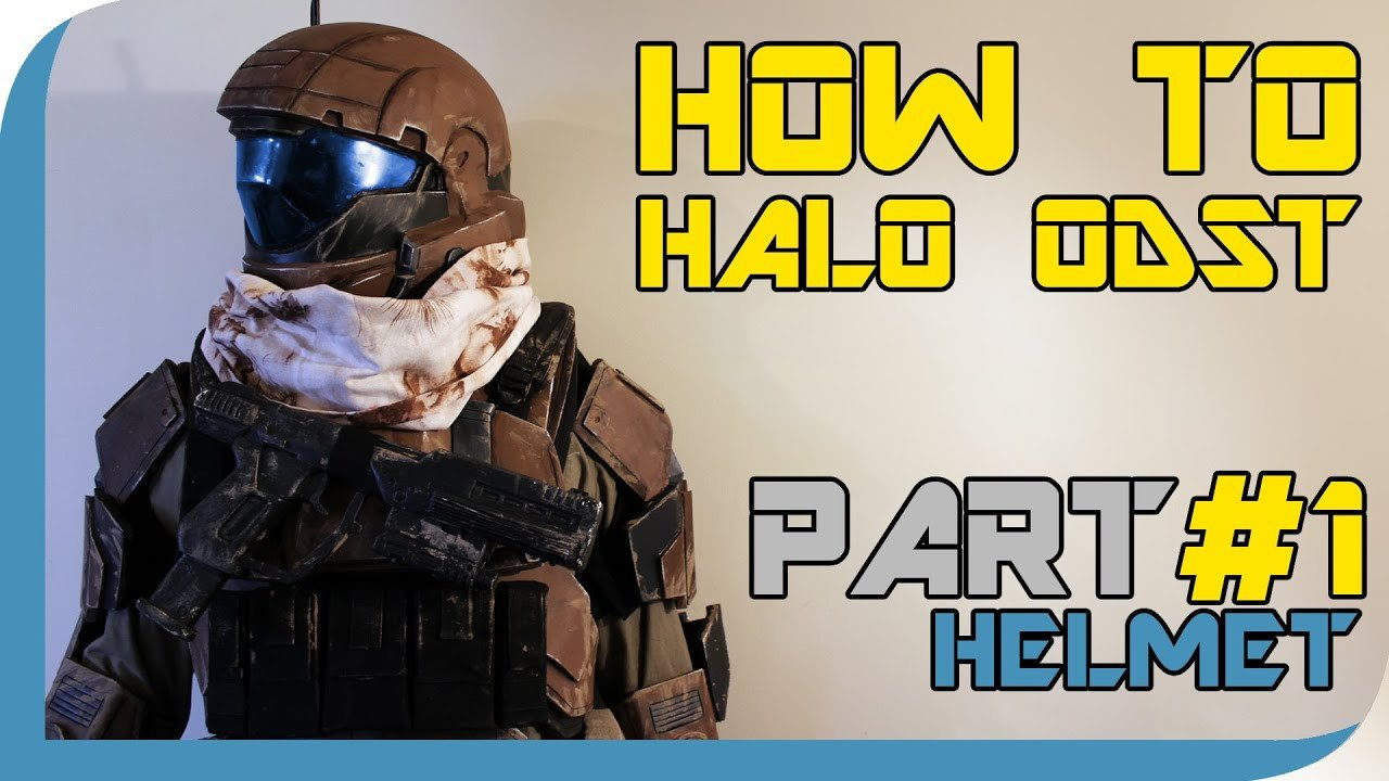 Halo Odst Foam Armor Templates How to Halo Reach Odst Costume Part 1 Helmet