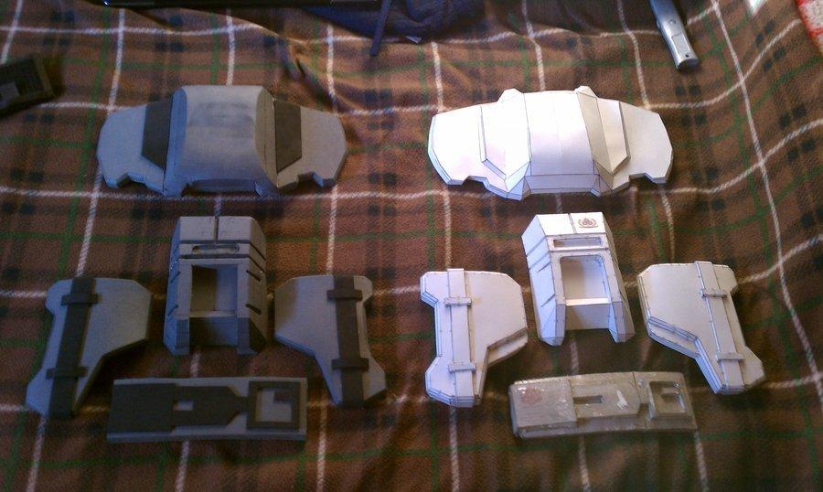 Halo Odst Foam Armor Templates Odst Foam and Paper Pare by Erockertorres