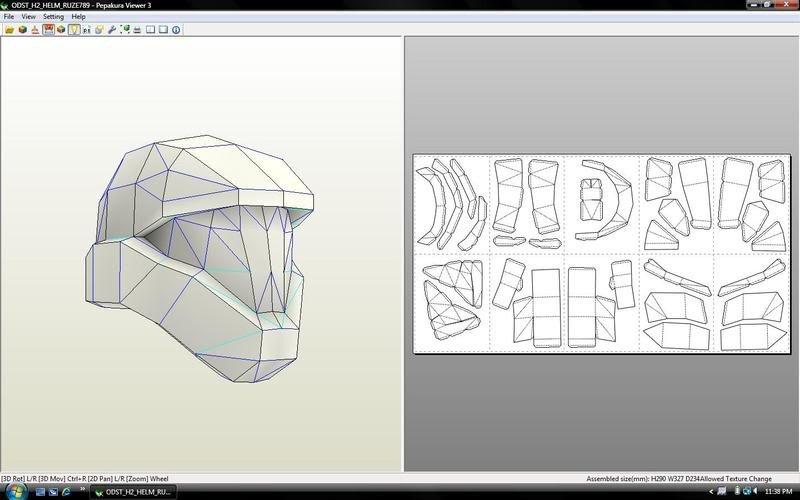 Halo Odst Foam Armor Templates Project 2013 Odst Helmet In Honor Of the Bungie Guys