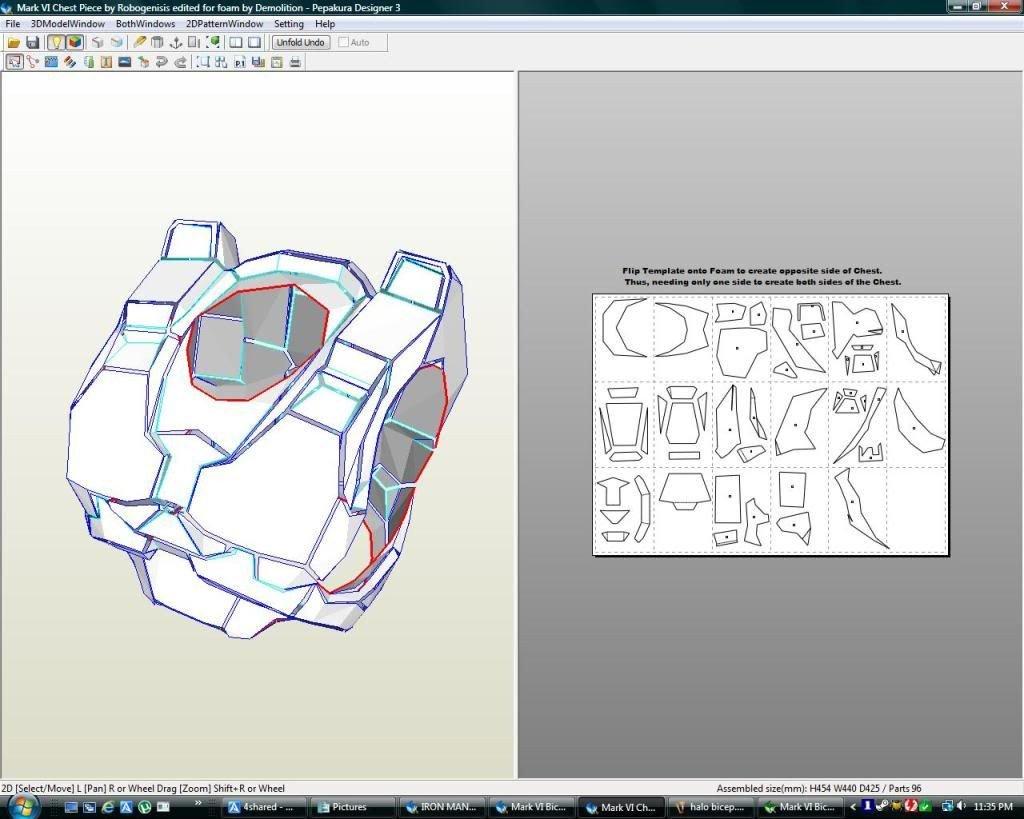 Halo Odst Foam Armor Templates Templates for Halo Armor