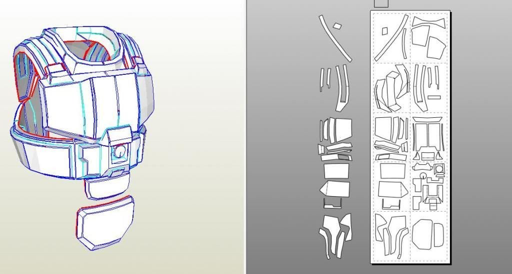 Halo Odst Foam Armor Templates Yay Another Odst Build Well at Least It Will Be Halo 4 S