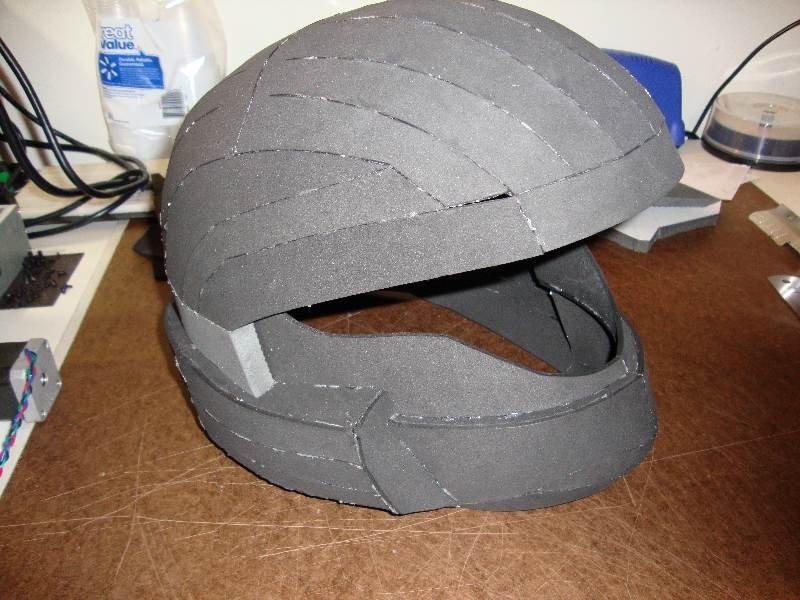 Halo Odst Foam Armor Templates Zat German S Halloween Foam Odst Build