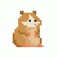 Hamster Pixel Art Hamster by Skazdal On Deviantart