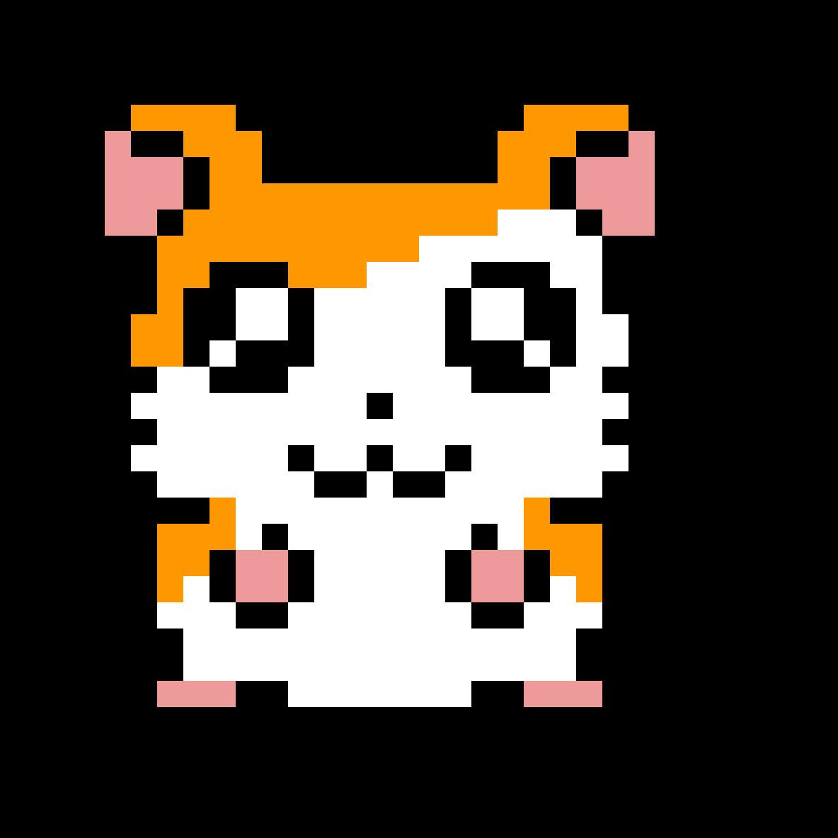 Hamster Pixel Art Pixilart Pixel Hamster by Pixelstar