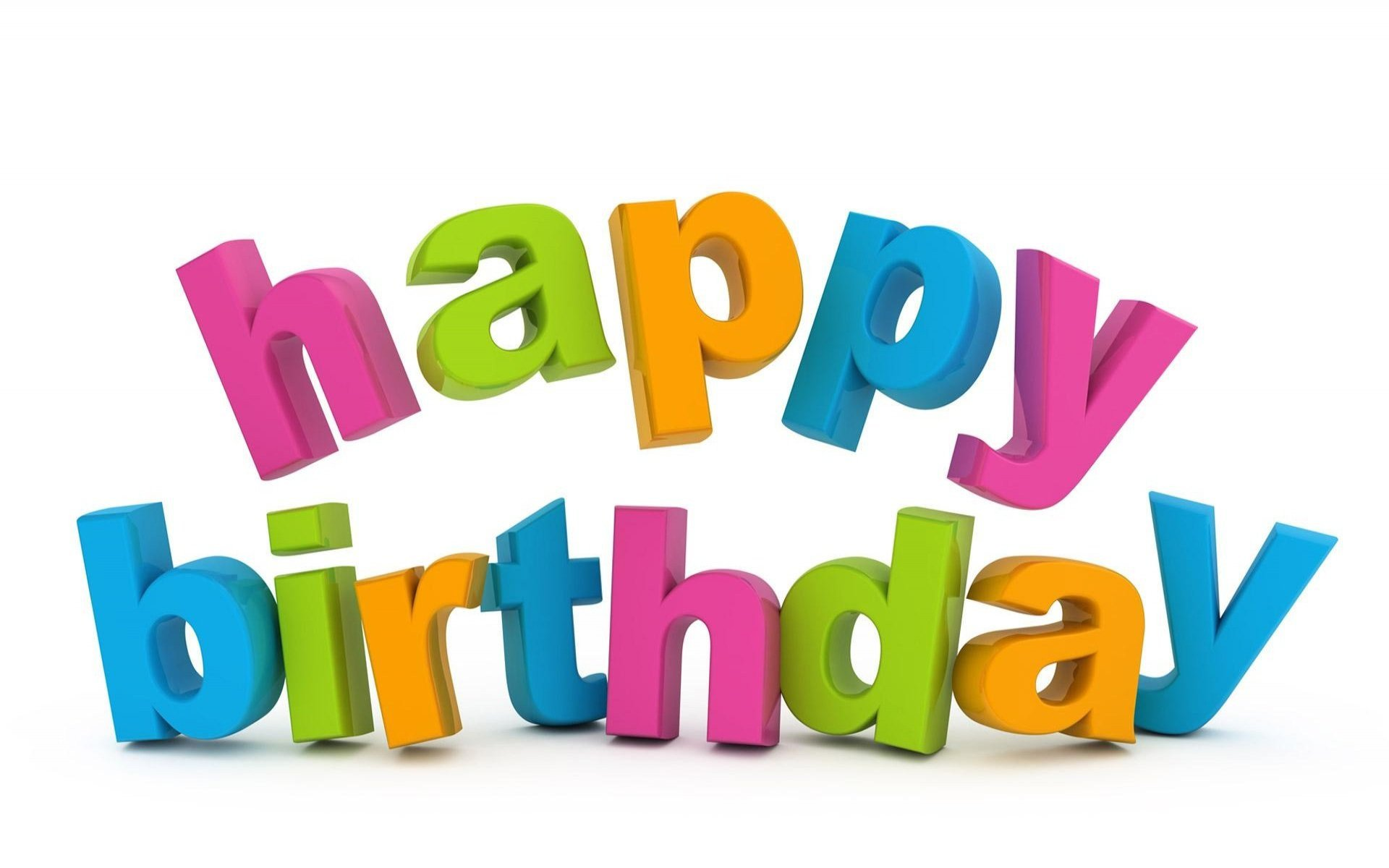 Happy Birthday 3d Image Free Happy Birthday Download Free Clip Art Free Clip