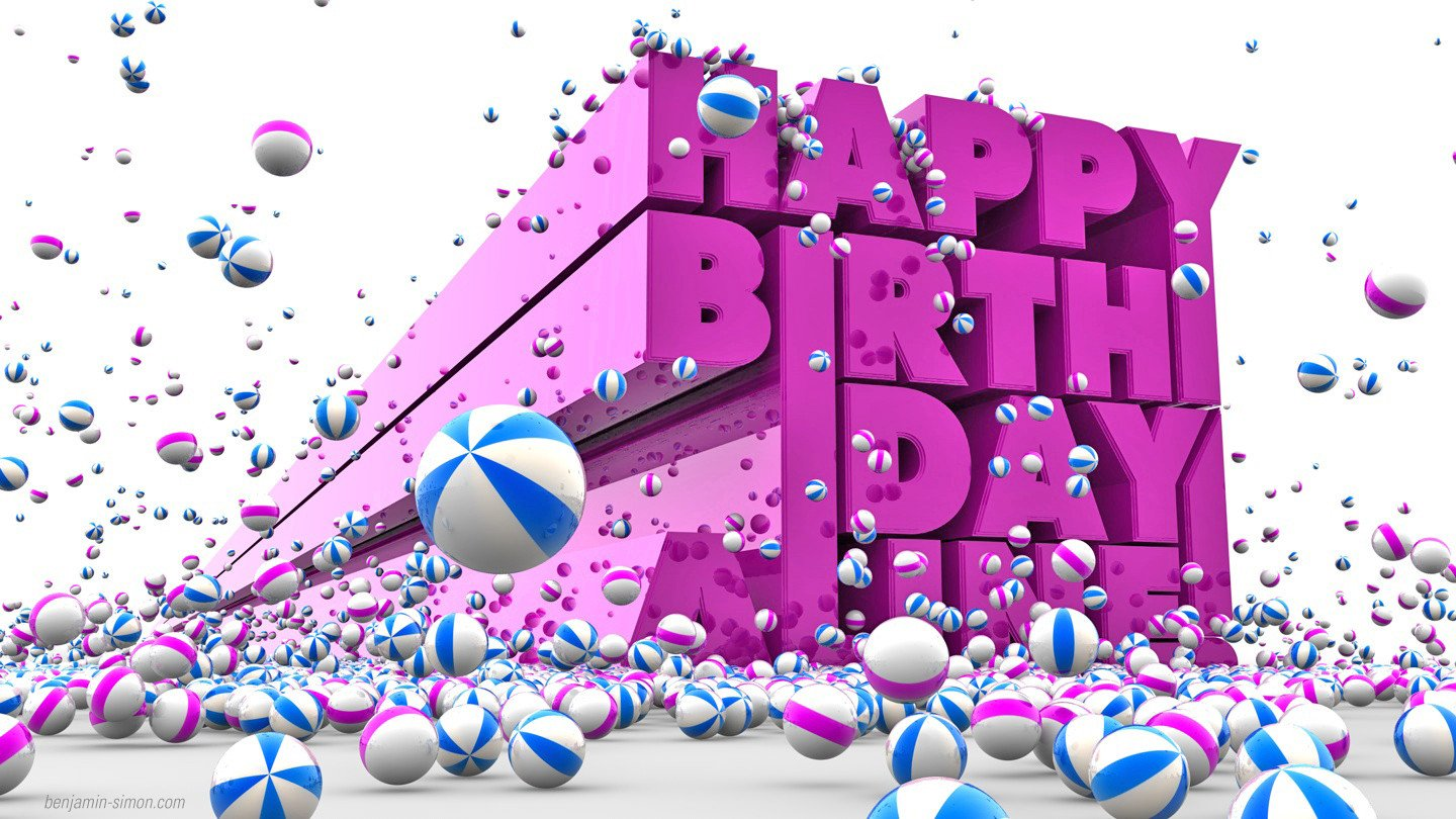 Happy Birthday 3d Image Happy Birthday 3d Effect Birthday 3d Greetings Cards