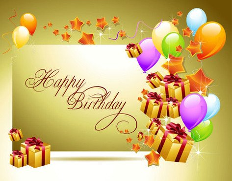 Happy Birthday 3d Image Happy Birthday 3d Wallpaper Free Vector 10 221