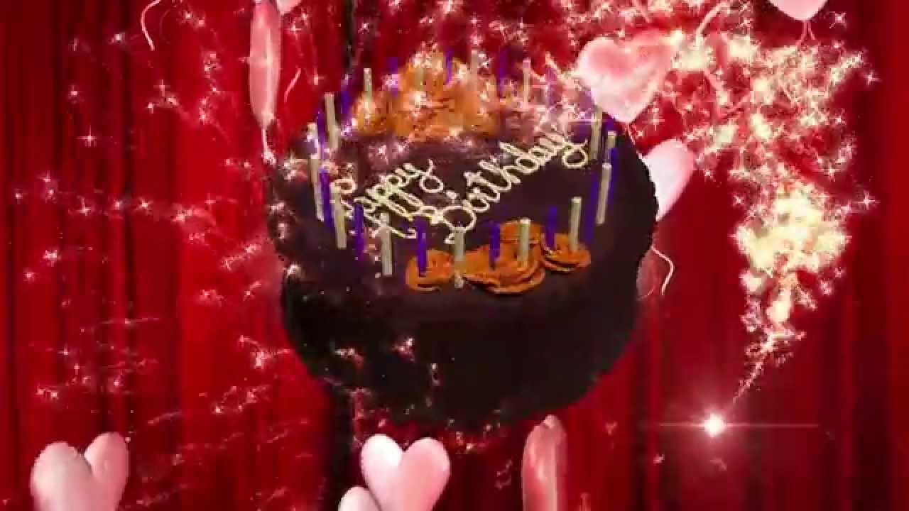 Happy Birthday 3d Image Happy Birthday Animation 3d Hd Motion Graphics Background
