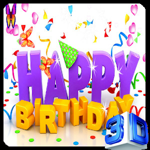 Happy Birthday 3d Image Happy Birthday Live Wallpaper android Apps On Google Play