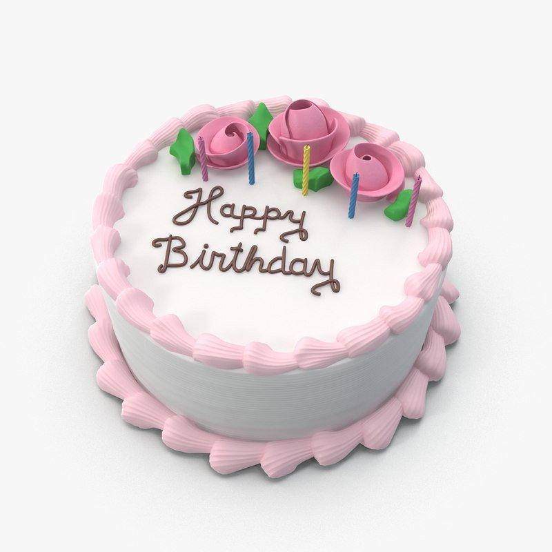 Happy Birthday 3d Images 3d Happy Birthday Cake