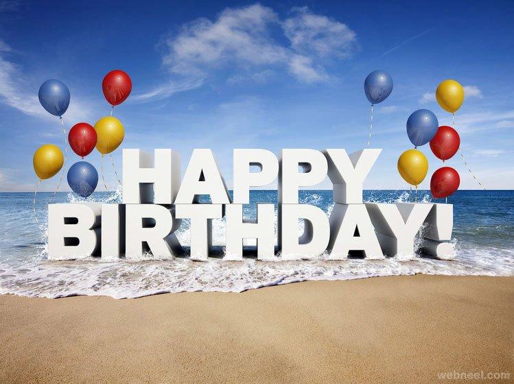 Happy Birthday 3d Images 3d Happy Birthday Creative Typography Design 23