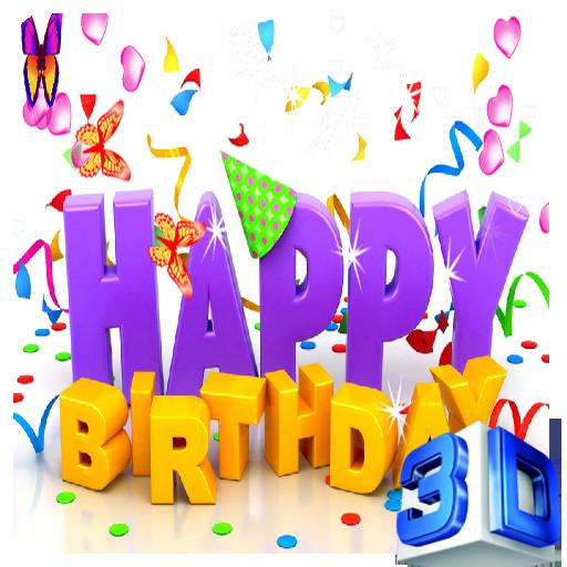 Happy Birthday 3d Images 3d Happy Birthday Live Wallpaper Amazon Appstore