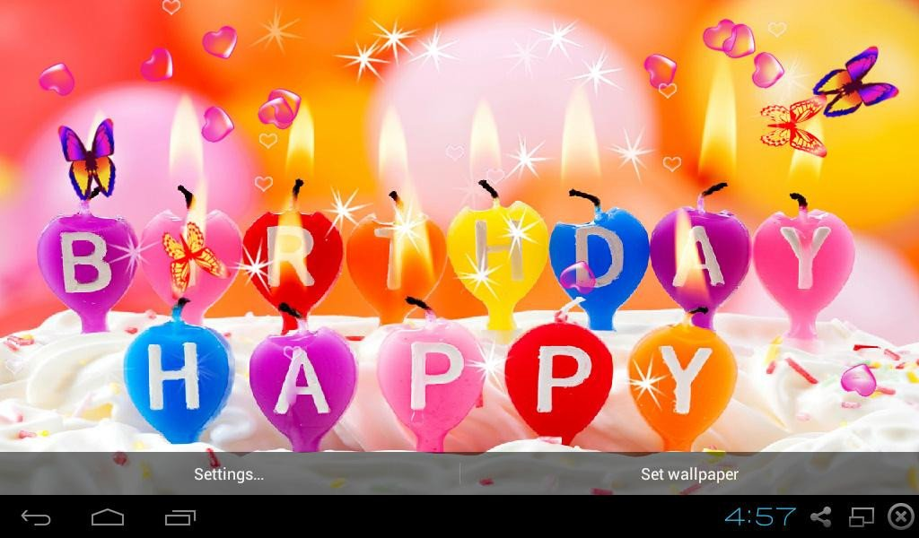 Happy Birthday 3d Images Happy Birthday Live Wallpaper android Apps On Google Play