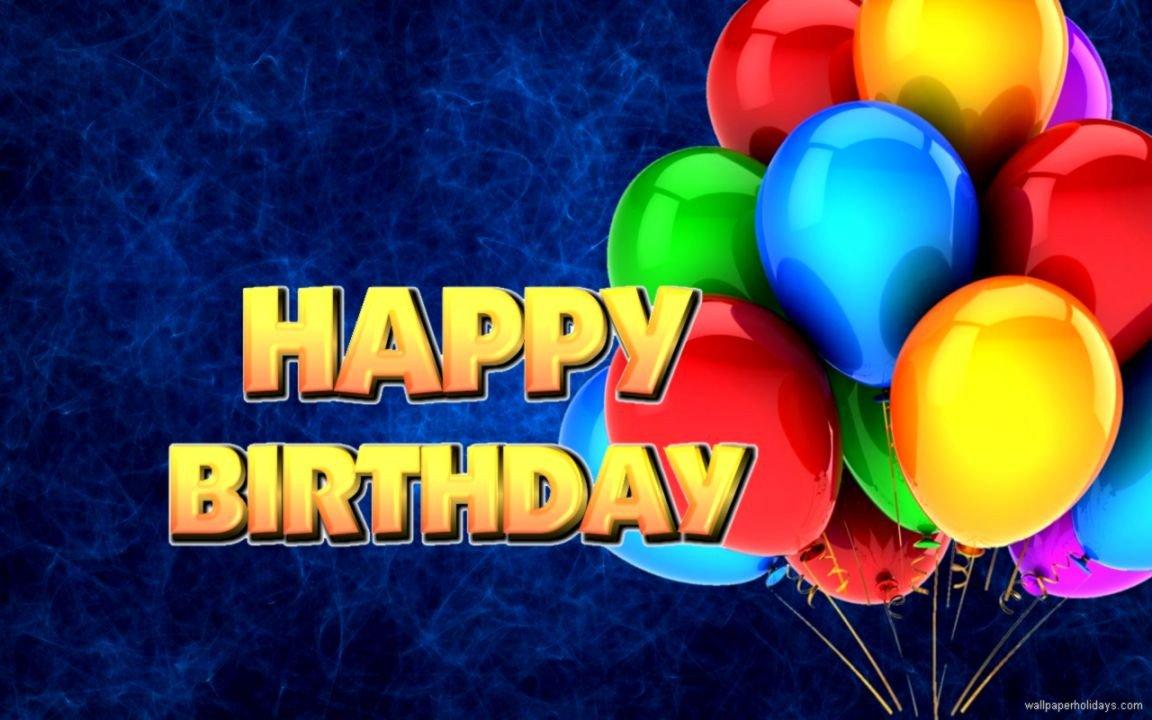 Happy Birthday High Definition Happy Birthday Widescreen Desktop