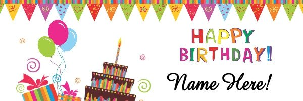 Happy Birthday Sign Template Birthday Banner Template