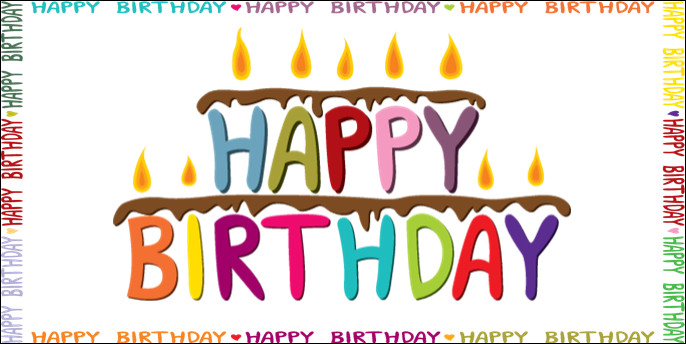 Happy Birthday Sign Template Happy Birthday Banner Template Download Gallery