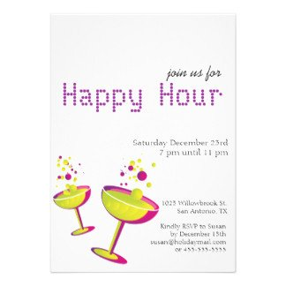 Happy Hour Invitation Template Happy Hour Invites 412 Happy Hour Invitation Templates