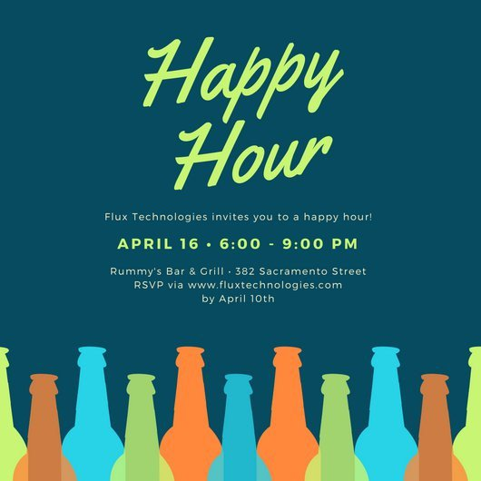 Happy Hour Invitation Templates Customize 242 Happy Hour Invitation Templates Online Canva