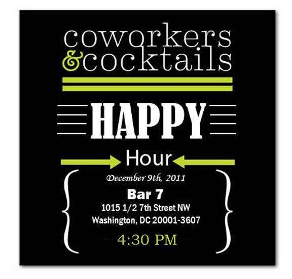 Happy Hour Invitation Templates Happy Hour Invite Wording Samples Invitation Templates