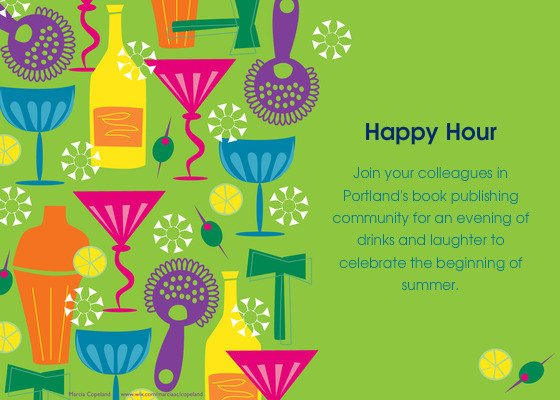 Happy Hour Invitation Templates Pubwest Portland Happy Hour Line Invitations & Cards by