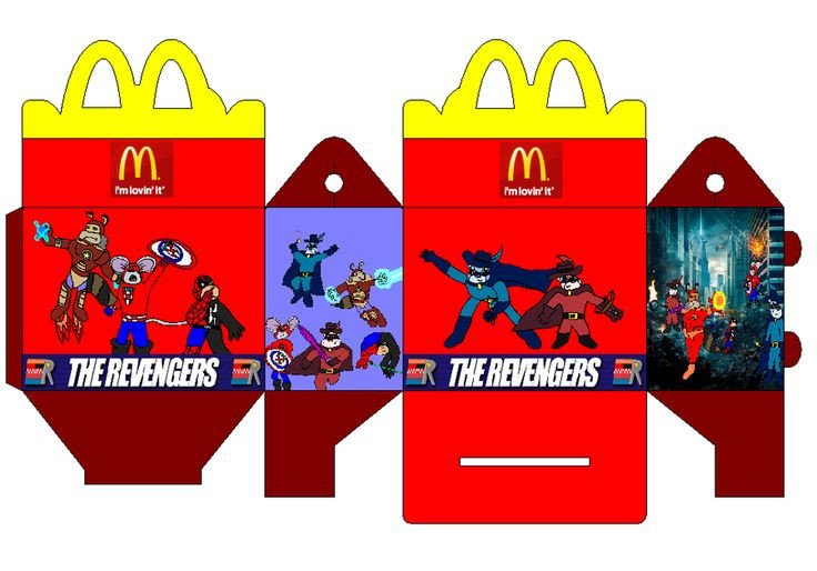 Happy Meal Box Template 1000 Images About Miniature Fast Food Printables On